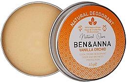 Parfumuri și produse cosmetice Deodorant cremă - Ben & Anna Vanilla Orchid Soda Cream Deodorant