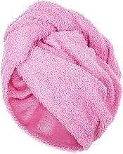 Parfumuri și produse cosmetice Prosop turban pentru uscarea părului, roz - MakeUp