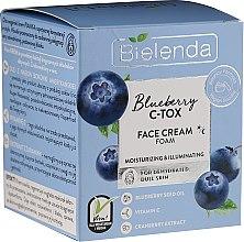 Parfumuri și produse cosmetice Cremă hidratantă de față - Bielenda Blueberry C-Tox Face Cream