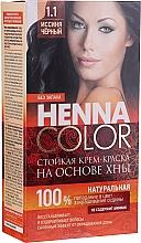 Parfumuri și produse cosmetice Cremă-vopsea rezistentă pentru păr, cu henna - FitoKosmetik Henna Color