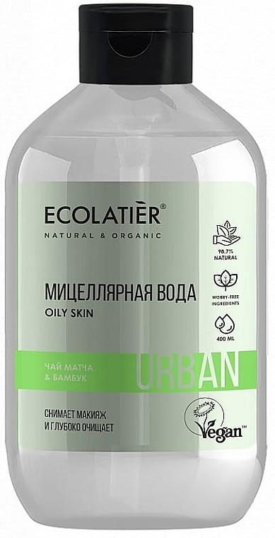 """Apă micelară """"Ceai Matcha și bambus"""" - Ecolatier Urban Micellar Water"""