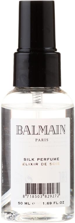Set pentru îngrijirea părului - Balmain Paris Hair Couture (silk parfume/50ml + mirror + h/brush) — Imagine N4