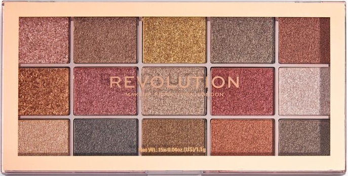 Paletă farduri de ochi - Makeup Revolution Foil Frenzy Eye Shadow Palette