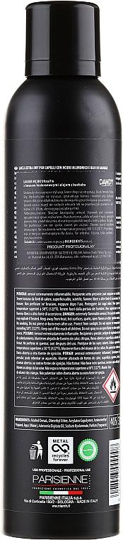Lac de păr, fixație puternică - Niamh Hairconcept Dandy Hair Spray Extra Dry Ultra Fix