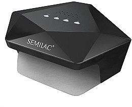 Parfumuri și produse cosmetice Lampă UV/LED profesională, neagră - Semilac Diamant 36W