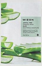 Parfumuri și produse cosmetice Mască de țesut cu extract de aloe - Mizon Joyful Time Essence Mask Aloe