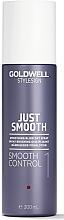 Parfumuri și produse cosmetice Spray de styling pentru netezirea părului - Goldwell Style Sign Just Smooth Control Blow Dry Spray
