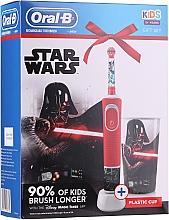 Set - Oral-B Kids Star Wars (tooth/brush/1pcs + cup) (1bucată) — Imagine N1