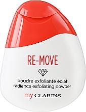 Parfumuri și produse cosmetice Pudră exfoliantă pentru față - Clarins My Clarins Re-Move Radiance Exfoliating Powder