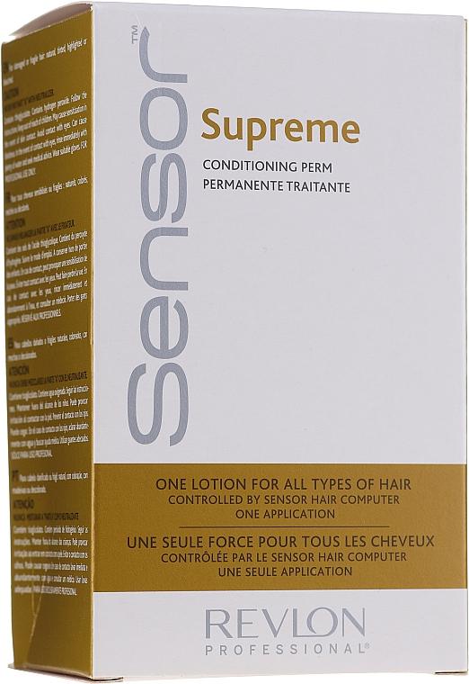 Soluție pentru păr vopsit și aranjare chimică - Revlon Professional Sensor Perm-Supreme — Imagine N6