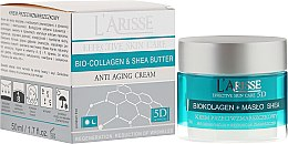 Parfumuri și produse cosmetice Cremă antirid cu colagen și unt de shea 55+ - Ava Laboratorium L'Arisse 5D Anti-Wrinkle Cream Bio Collagen + Shea Butter