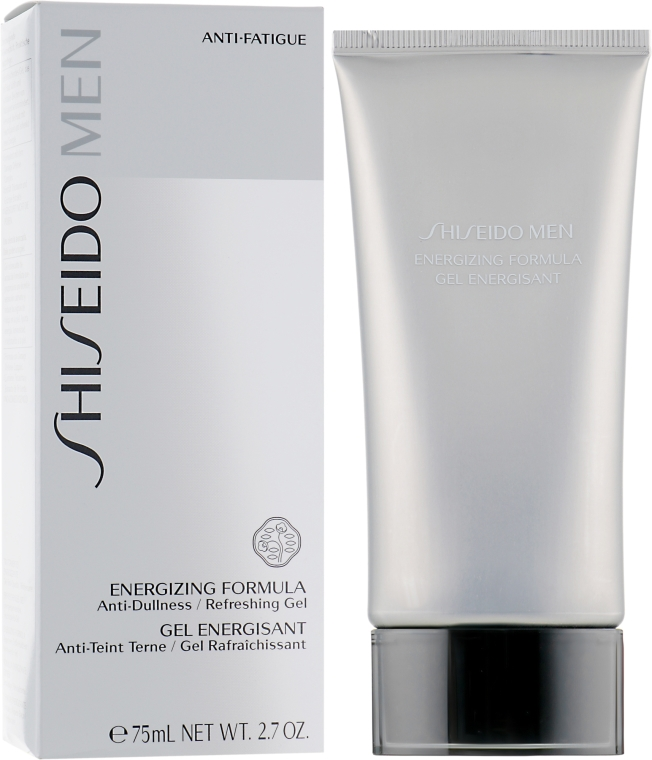 Gel după ras - Shiseido Men Energizing Formula Gel  — Imagine N1