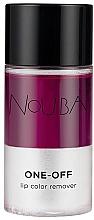 Parfumuri și produse cosmetice Demachiant - Nouba One Off Lip Color Remover