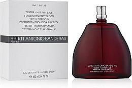 Spirit Antonio Banderas - Apă de toaletă (tester fără capac) — Imagine N2