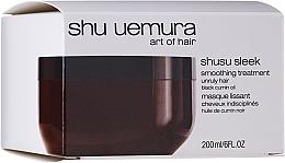Parfumuri și produse cosmetice Mască pentru părul neascultător - Shu Uemura Art Of Hair Shusu Sleek Smoothing Treatment