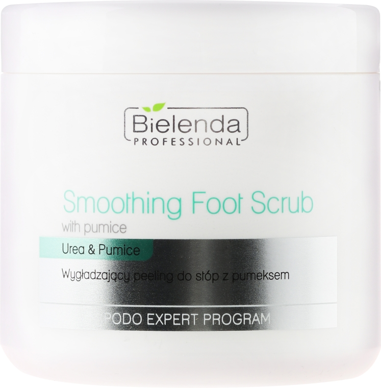 Scrub pentru picioare - Bielenda Professional Podo Expert Program Smoothing Foot Scrub With Urea and Pumice — Imagine N1