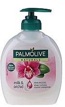 "Parfumuri și produse cosmetice Săpun lichid Natural ""Black Orchid"" - Palmolive Naturel"