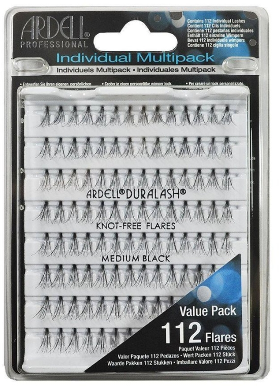 Extensii gene - Ardell Individual Multipack Medium Black — Imagine N1