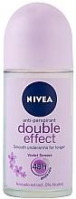 Deodorant roll-on antiperspirant - Nivea Double Effect Deodorant Roll-On — Imagine N1