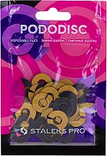 Parfumuri și produse cosmetice Inel abraziv pentru disc de pedichiură, S, 180 grit - Staleks