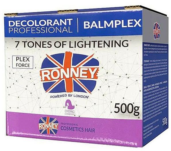 Pudră decolorantă, până la 7 tonuri - Ronney Professional BalmPlex 7 Tones Of Lightening — Imagine N1