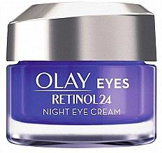 Parfumuri și produse cosmetice Cremă de noapte pentru zona ochilor - Olay Regenerist Retinol24 Nigh Eye Cream