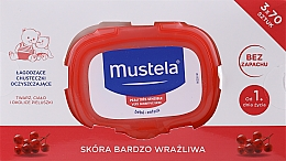 Parfumuri și produse cosmetice Set - Mustela Bebe Cleansing Wipes For Delicate Skin (3x70)