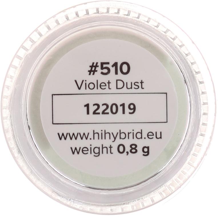 Pudră pentru unghii - Hi Hybrid Glam Nail Powder — Imagine N2