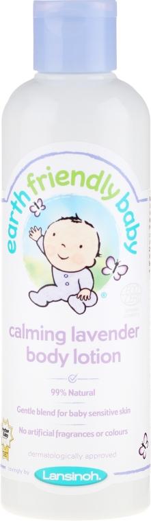 Loțiune de corp - Earth Friendly Baby Calming Lavender Body Lotion — Imagine N1