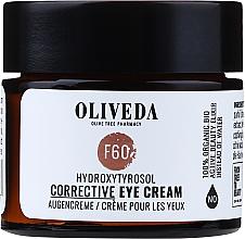 Parfumuri și produse cosmetice Cremă pentru zona ochilor - Oliveda F60 Augencreme Hydroxytyrosol Corrective Eye Cream