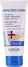Cremă de mâini și unghii pentru iarnă - Floslek Winter Care Hand And Nail Winter Cream — Imagine N1