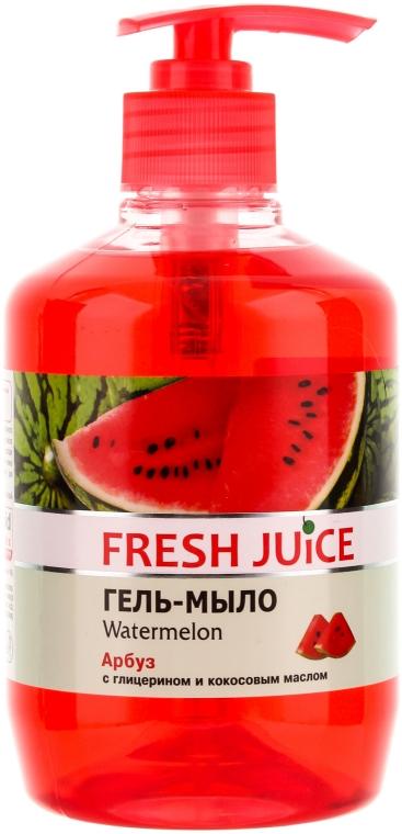 """Săpun-gel cu glicerină """"Pepene verde"""" - Fresh Juice Watermelon"""