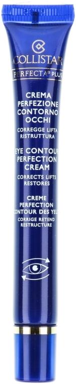 Cremă de ochi - Collistar Perfecta Plus Eye Contour Perfection Cream — Imagine N2