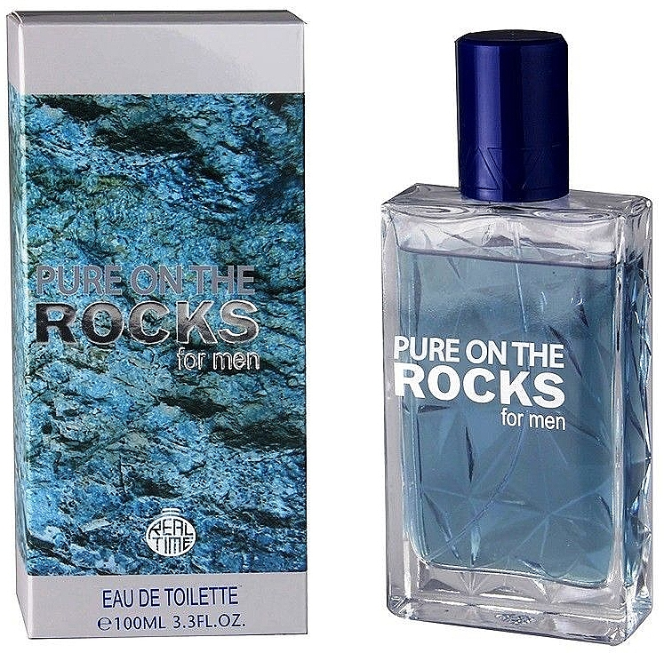 Real Time Pure On The Rocks For Men - Apă de toaletă