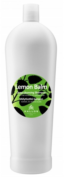 Șampon cu melisă pentru păr normal și gras - Kallos Cosmetics Lemon Balm Shampoo