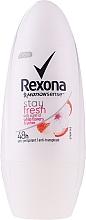 Parfumuri și produse cosmetice Deodorant Roll-On - Rexona Stay Fresh Deo Roll-On White Flowers