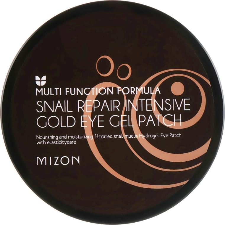 Patch-uri regenerante pentru ochi - Mizon Snail Repair Intensive Gold Eye Gel Patch — Imagine N2