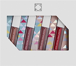 Parfumuri și produse cosmetice Set - Ofra By The Fire Mini Lip Set Multicolor (lipstick/4x2g)
