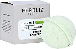 "Parfumuri și produse cosmetice Bombă de baie ""Lemongrass"" - Herbliz CBD"