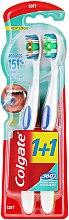 Parfumuri și produse cosmetice Periuță de dinți - Colgate 360 Whole Mouth Clean Soft