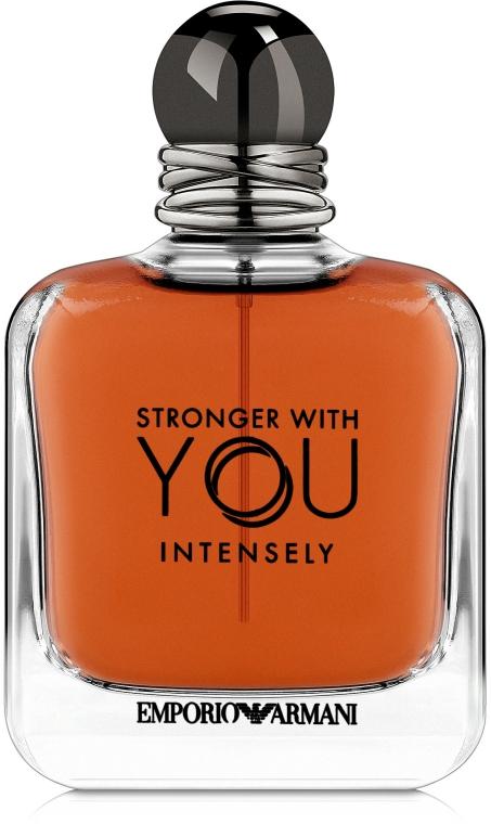 Giorgio Armani Emporio Armani Stronger With You Intensely - Apă de parfum (Tester cu capac)