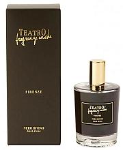 Parfumuri și produse cosmetice Spray aromat pentru casă - Teatro Fragranze Uniche Spray Black Divine
