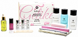 Parfumuri și produse cosmetice Set pentru manichiură, 13 produse - Kabos Base Set Gelike Pink