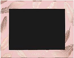 Parfumuri și produse cosmetice Husă pentru cosmetică, roz - Nabla Liberty Six Customizable Palette