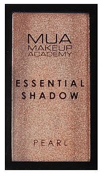 Fard de ochi - MUA Essential Shadow Pearl