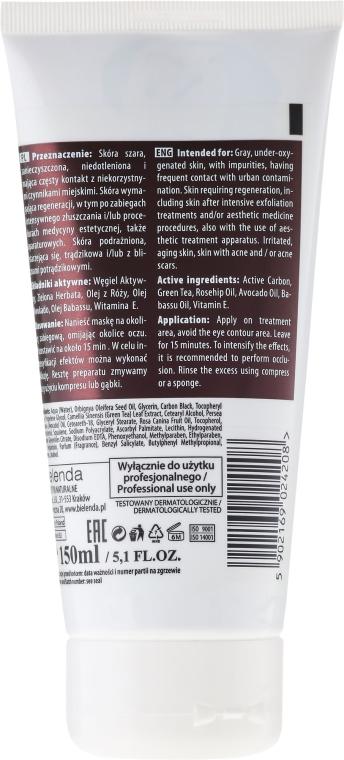 Crema regeneratoare pentru mâini - Bielenda Professional Power Of Nature Creamy Regenerating And Nourishing Face Mask — Imagine N2