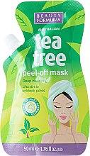 Parfumuri și produse cosmetice Mască-peeling pentru față - Beauty Formulas Tea Tree Peel-Off Mask