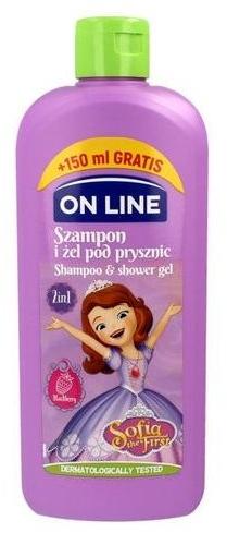 "Gel de duș ""Sofia"" - On Line Disney Sofia The First Shampoo & Body Wash — Imagine N1"