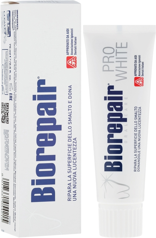 Pasta de dinți pentru albire - BioRepair PRO White — Imagine N1