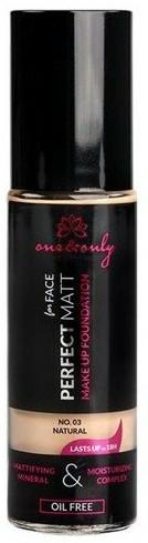 Fond de ten - One&Only Cosmetics For Face Perfect Matt Make Up Foundation